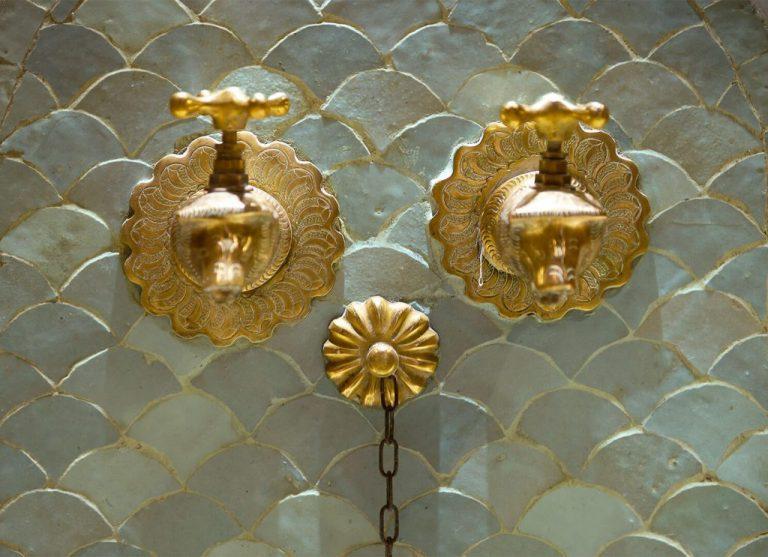 détail riad Dar Housnia à Marrakech