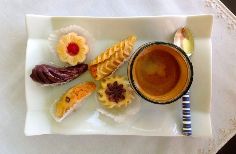 dessert riad Dar Housnia à Marrakech