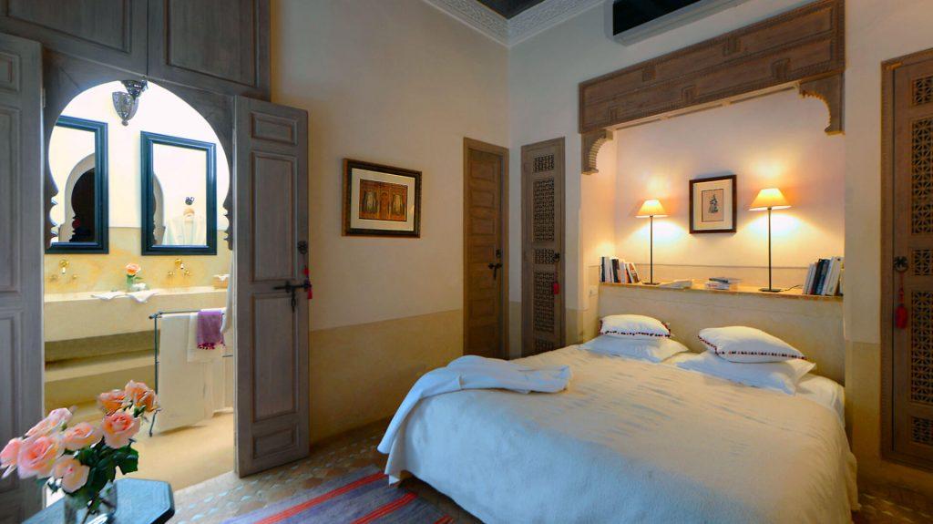 chambre riad Dar Housnia à Marrakech