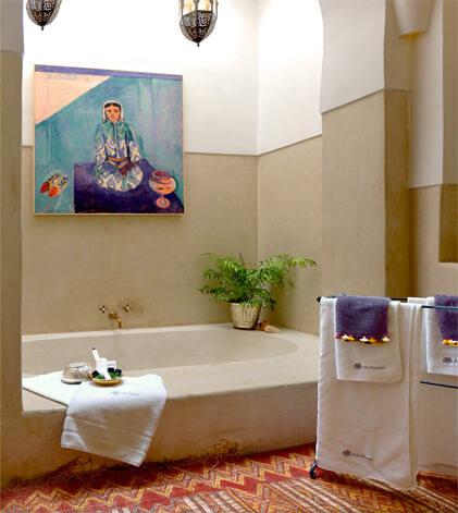 bain suite Mogador riad Dar Housnia