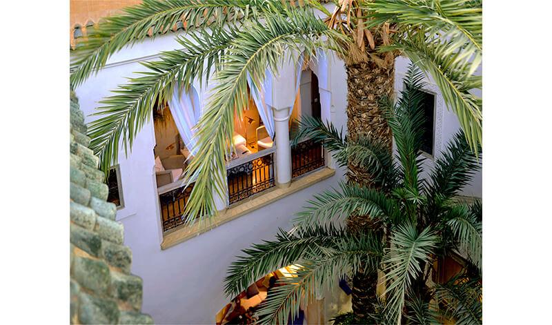 riad en exclusivité Dar Housnia à Marrakech