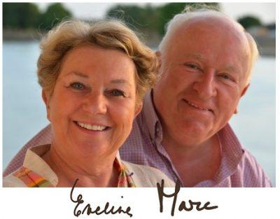 Eveline et Marc Donnez propriétaires de Dar Housnia, riad à Marrakech