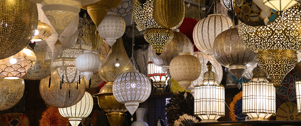 lampes marocaines Marrakech