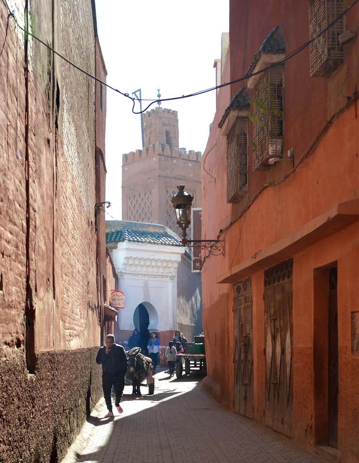 contact riad Dar Housnia à Marrakech